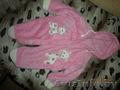 Комбинезон розовый для девочки