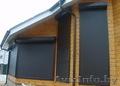 Роллеты защитные на окно в Барановичах.Ворота секционные гаражные.