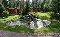 Изготовление декоративных прудов,  ручьев,  каскадов,  водопадов,  фонтанов